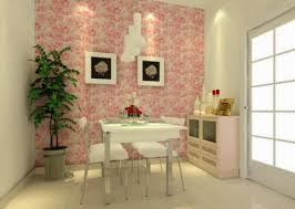 eye for design let your rooms bloom with rose patterned wallpaper