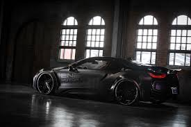 Bmw I8 Blacked Out - dub magazine bmw i8 dark knight edition