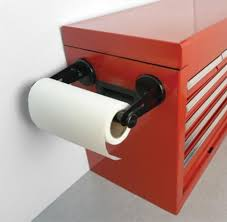 master magnetics magnetic paper towel holder in shop equipment