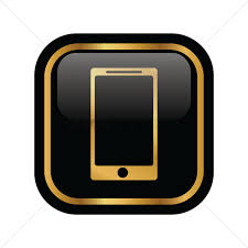 mobile phone icon vector image 1949910 stockunlimited