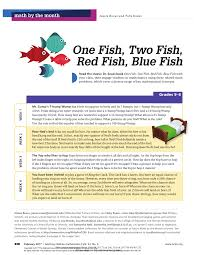 one fish two fish red fish blue fish pdf download available