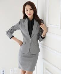 styles of work suites novelty grey formal ol styles professional business women work suits