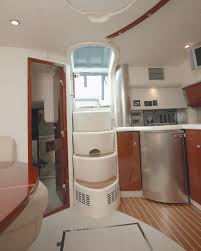 Sailboat Bathroom Accessories by The Interior Is Modest And Cozy Boat Decor Advisor