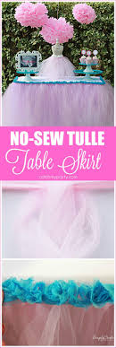 black tulle table skirt no sew tulle table skirt catch my party