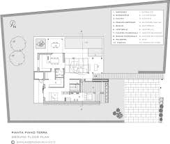 Modern Floor Plans For Homes Ground Floor Plan Picture For Modern House Of Light Maison De La
