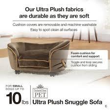 Enchanted Home Storage Ottoman Enchanted Home Pet Ultra Plush Snuggle Sofa Reviews Wayfair