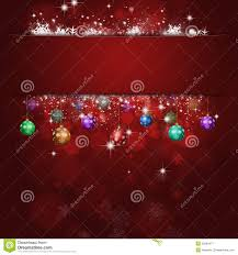Christmas Light Balls For Trees by Xmas Balls Red Celebration Background Stock Image Image 35086471