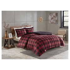 Plaid Bed Sets Black Buffalo Plaid Bedding Set Target