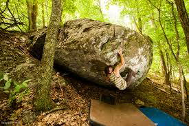 Grayson Highlands State Park Map by Grayson Highlands Bouldering Guidebook A Review Rock Climbing