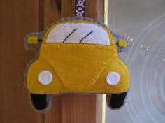 vw bug ornament yellow vw bug retro car ornament by comforte