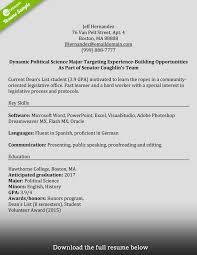 sample resume for mft intern rock your internship accounting stu