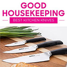knives kitchen amazon com zyliss kitchen knife set with block