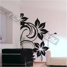 Wall Flower Decor by Flower Wall Art Decor Diy Large Paper Flowers Best Decor Home