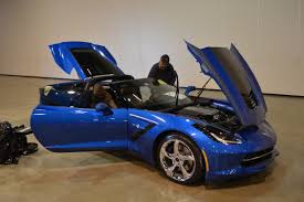 corvette chevy expo nathan kranson displayed his beautiful 2014 corvette at the
