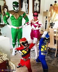 Power Ranger Halloween Costumes Power Rangers Family Costume