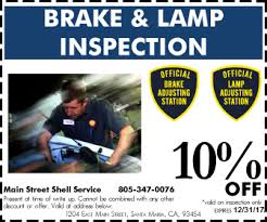 brake and light inspection locations brake and l inspection santa maria get your salvaged vehicle