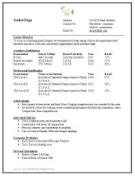 resume format in word doc resume exle word document finance marketing resume sle in