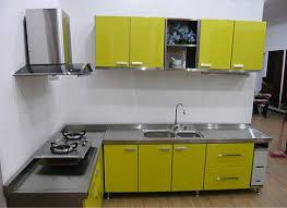 modern kitchen cabinets metal item modern stainless steel kitchen cabinets furniture