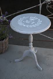 vintage pedestal side table reloved rubbish paris gray pedestal side table