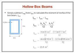 cross sectional moment of inertia introduction to beam theory ppt video online download