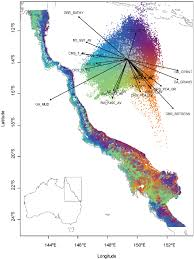 Florida Artificial Reefs Map by Map And Representative Data From The Great Barrier Reef