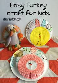 Easy Thanksgiving Projects For Kids Easy Turkey Craft For Kids