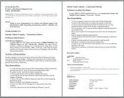 e resume exles promoter resume exle