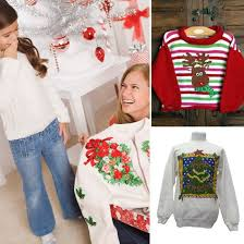ugly christmas kids sweaters popsugar moms
