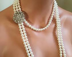 long pearls necklace images Long pearl necklace etsy jpg