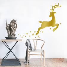 aliexpress com buy merry christmas cute little deer snowflake aliexpress com buy merry christmas cute little deer snowflake decor wall sticker home decor shop store chirstmas party window stickers decoration from