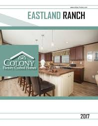 colony homes timberland modular 2017 by the commodore corporation