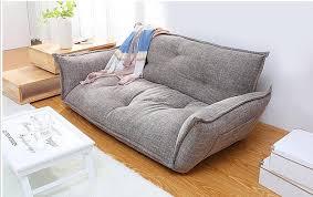 Japanese Sofa Bed Modern Design Floor Sofa Bed 5 Position Adjustable Sofa Plaid