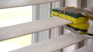 Gray Blinds Tip For Cleaning Blind Slats Today U0027s Homeowner