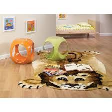 Orange Kids Rug Walk On Me Lion Kids Rug U0026 Reviews Wayfair