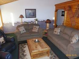 One Story Log Homes Pets Are Family Large One Story Log Home Big Bear Lake Close To