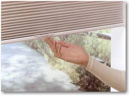 How To Put Blinds Down Hunter Douglas Duette Literise Cordless Lifting System
