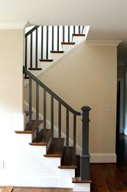 Oak Stair Banister Painting Stairs Black U2013 Alternatux Com