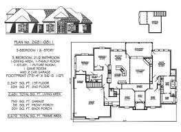 three bedroom two bath house plans 3 bedrooms 1 2201 2700 square