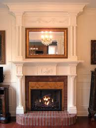 interior charming fireplace candelabra with mantle for modern
