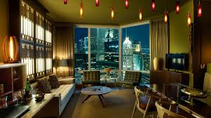 Cozy Living Room by Cozy Living Room With A View Of The Big City Wallpapers And Images