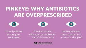 why using antibiotic eye drops for pink eye is the wrong way to go