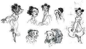 Tiana Art Of Walt Disney Animation Studios Website Princess And The Frog Sheets