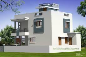 Modern Low Cost Gujarat Home Design By Rachana 7 Winsome Duplex House Plans
