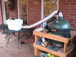 big green egg fan cold smoke big green egg egghead forum the ultimate cooking