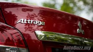 mitsubishi attrage specification review mitsubishi attrage gs a well groomed city slicker