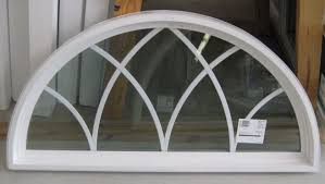 Home Interior Arch Design Architecture Attractive White Polished Window Grids Arched