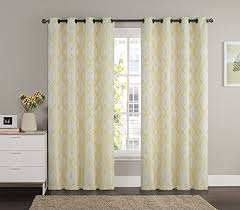 Gold Curtains 90 X 90 Ruthy U0027s Textile 2 Piece Textured Grommet Window Curtain Panels 55