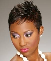 black american hair style on a circle face to school trend short hairstyles for african american round faces top 100