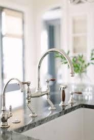 waterworks kitchen faucet discover easton two bridge gooseneck kitchen faucet