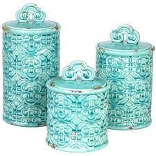 kitchen canisters set blue canisters for kitchen turquoise kitchen canister sets for